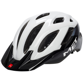 MET Crossover Bike Helmet white/black